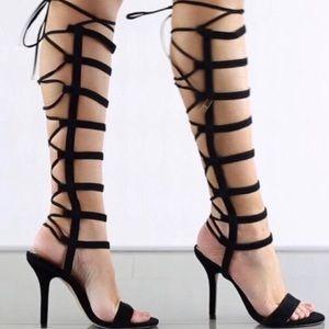 ~ALDO Hastina Black Suede Heels~